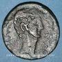Monnaies Octave (43-27 av. J-C). Dupondius. Italie, vers 38 av. J-C. Inédit !