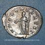 Monnaies Otacilie, épouse de Philippe I. Antoninien. Rome, 245-247. R/: Junon