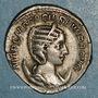 Monnaies Otacilie, épouse de Philippe I. Antoninien. Rome, 245. R/: la Concorde