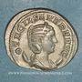 Monnaies Otacilie, épouse de Philippe I. Antoninien. Rome, 247. R/: la Piété