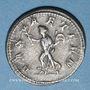 Monnaies Philippe I (244-249). Antoninien. Rome, 244-245. R/: la Paix debout à gauche