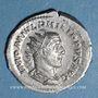 Monnaies Philippe I (244-249). Antoninien. Rome, 244-245. R/: la Sécurité assise à gauche
