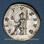 Monnaies Philippe I (244-249). Antoninien. Rome, 244-245. R/: la Valeur assise à gauche