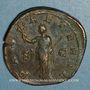 Monnaies Philippe I (244-249). Sesterce. Rome, 244-245. R/: la Paix