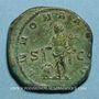 Monnaies Philippe I (244-249). Sesterce. Rome, 245-247. R/: l'Abondance