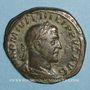 Monnaies Philippe I (244-249). Sesterce. Rome, 245. R/: la Félicité