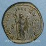 Monnaies Philippe I (244-249). Sesterce. Rome, 247. R/: la Félicité