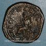 Monnaies Philippe I (244-249). Sesterce. Rome, 249. R/: la Fortune