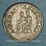Monnaies Philippe II, auguste (247-249). Antoninien. Rome, 247. R/: Philippe père et son fils