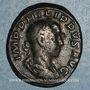 Monnaies Philippe II, auguste (247-249). As. Rome, 247. R/: la Paix
