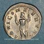 Monnaies Philippe II, césar sous Philippe I (244-247). Antoninien. Rome, 244-246. R/: Jupiter