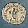 Monnaies Philippe II, césar sous Philippe I (244-247). Antoninien. Rome, 246-247. R/: Philippe