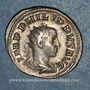 Monnaies Philippe II, césar sous Philippe I (244-247). Antoninien. Rome, 247. R/: la Paix