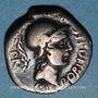 Monnaies Pompée le Jeune (79-45 av. J-C) Denier. Cordoue (Corduba) 46-45 av. J-C. R/: l'Espagne ou la Bétique