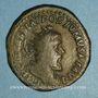 Monnaies Postume (260-268). Double sesterce. Cologne, 261. R/: galère