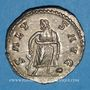 Monnaies Postume (260-269). Antoninien. Cologne, 266. R/: Esculape