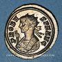 Monnaies Probus (276-282). Antoninien. Ticinum, 1ère officine, 281-282. R/: temple à six colonnes