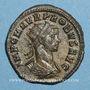 Monnaies Probus (276-282). Antoninien. Ticinum. 3ème officine, 277. R/: le Soleil