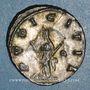 Monnaies Salonine, épouse de Gallien. Antoninien. Rome, 4è officine. 257-258. R/: la Pudeur