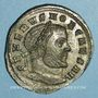 Monnaies Sévère II, césar (305-306). Follis. Ticinum, 3e officine. 305-306. R/: Mars