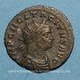 Monnaies Tacite (275-276). Antoninien. Rome, 2e officine, 275. R/: La Joie debout à gauche