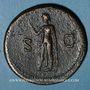 Monnaies Titus, auguste (79-81). Sesterce. Rome, 80. R/: l'Espérance