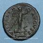 Monnaies Titus, césar (69-79). As. Rome, 74. R/: la Victoire