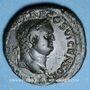 Monnaies Titus, césar (69-79). Dupondius. Lyon 77-78. R/: la Paix