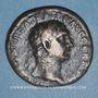 Monnaies Trajan (98-117). As. Rome, 100. R/: Victoire marchant à gauche
