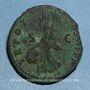 Monnaies Trajan (98-117). As. Rome, 101-102. R/: Victoire marchant à gauche