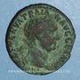 Monnaies Trajan (98-117). As. Rome, 101-102. R/: Victoire