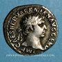 Monnaies Trajan (98-117). Denier. Rome, 101-102. R/: Victoire