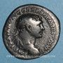 Monnaies Trajan (98-117). Denier. Rome, 107. R/: la Paix