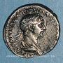 Monnaies Trajan (98-117). Denier. Rome, 114-117. R/: Mars