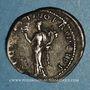 Monnaies Trajan (98-117). Denier. Rome, 114. R/: la Félicité