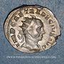 Monnaies Trajan Dèce (249-251). Antoninien. Milan, 250-251. R/: Génie