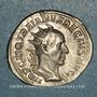 Monnaies Trajan Dèce (249-251). Antoninien. Rome, 249. R/: Trajan Dèce à cheval