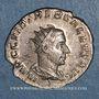 Monnaies Trébonien Galle (251-253). Antoninien. Rome, 251-252. R/: la Félicité