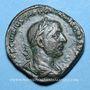 Monnaies Trébonien Galle (251-253). Sesterce. Rome, 251-252. R/: la Liberté