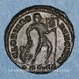 Monnaies Valens (364-378). Centénionalis. Siscia, 2e officine, 365. R/: l'empereur