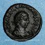 Monnaies Valentinien II (375-392). 1/2 centénionalis. Héraclée, 2e officine. 383. R/: couronne