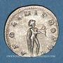 Monnaies Valérien I (253-260). Antoninien. Rome, 253-255. R/: Apollon