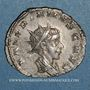 Monnaies Valérien II, césar (256-258). Antoninien. Cologne, 257-258. R/: Jupiter enfant