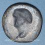 Monnaies Vespasien (69-79). As. Revers incus