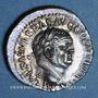 Monnaies Vespasien (69-79). Denier. Ephèse, 74. R/: Cérès assise à gauche