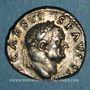 Monnaies Vespasien (69-79). Denier. Rome, 70-72. R/: simpulum,...