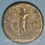 Monnaies Vespasien (69-79). Sesterce. Rome, 71. R/: Rome debout à gauche