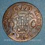 Monnaies Açores. Marie I (1786-1799). 5 reis 1797