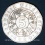 Monnaies Autriche. 5 euro 2002. 200e anniversaire du jardin zoologique de Schönbrunn