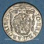 Monnaies Autriche. Archevêché de Salzbourg. Jean Ernest (1687-1709). Kreuzer 1702